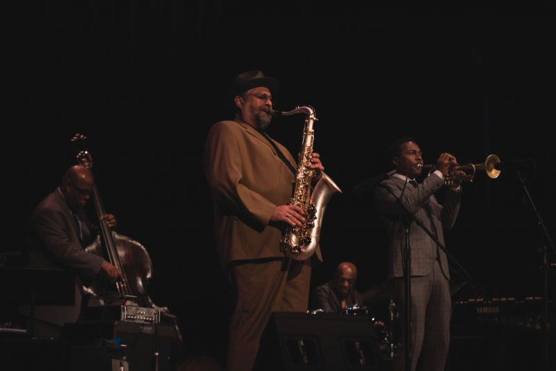(L-R): Christian McBride, Joe Lovano, Roy Haynes and Roy Hargrove