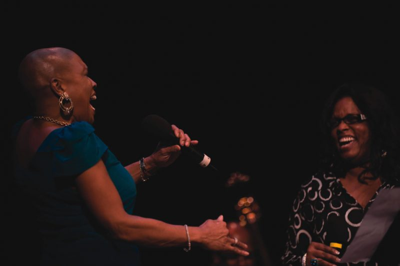 Dee Dee Bridgewater and Dianne Reeves