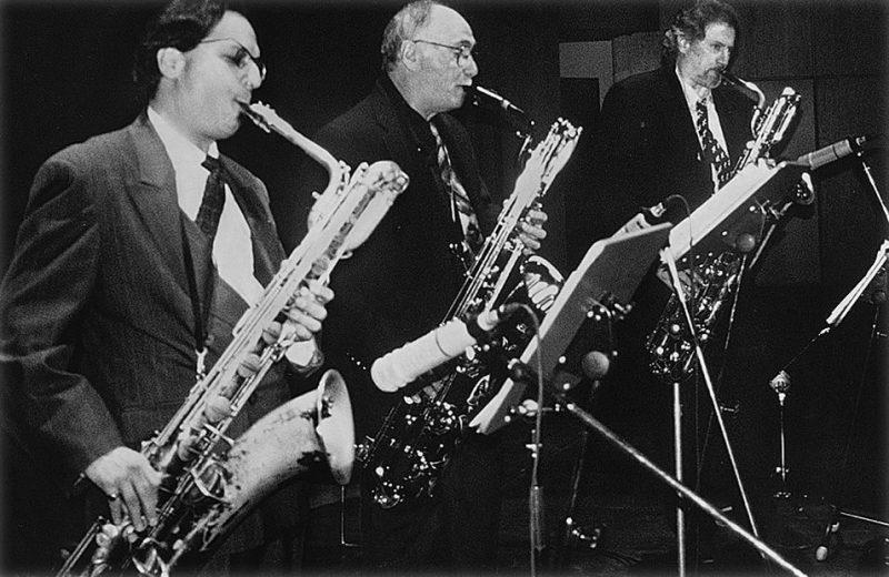 Nick Brignola, Ronnie Cuber and Gary Smulyan