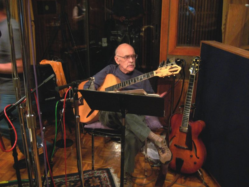 Jim Hall at Sear Sound, New York; September 9, 2008