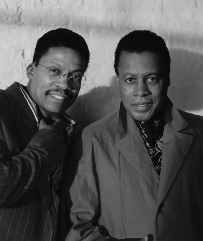 Herbie Hancock and Wayne Shorter