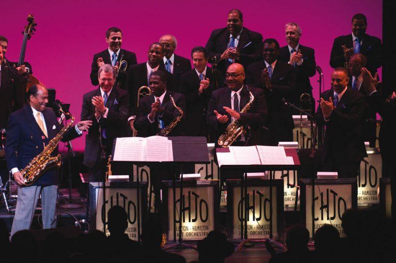 Benny Golson celebrating his 80th birthday with the Clayton-Hamilton Jazz Orchestra at Washington, DC's Kennedy Center; Jan. 24, 2009