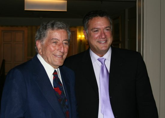 Tony Bennett and Eddie Bruce image 0