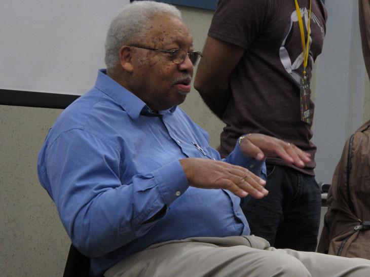 Ellis Marsalis teaching clinic during the 2010 Panama Jazz Festival