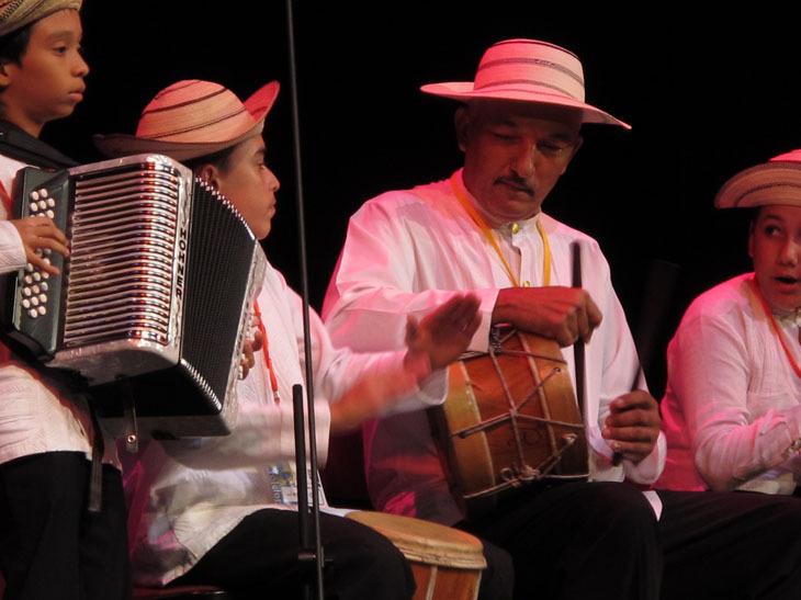Scene from the 2010 Panama Jazz Festival