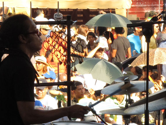 Performance during the 2010 Panama Jazz Festival