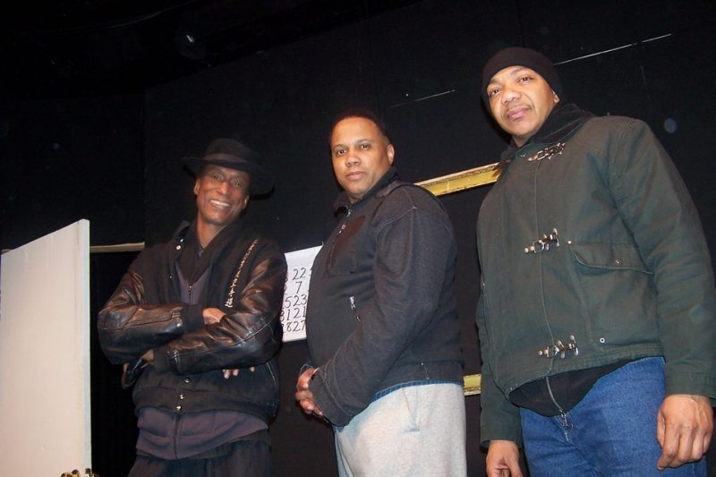 From left: Michael Wright, Marcus Naylor, Stacey J. Dotson