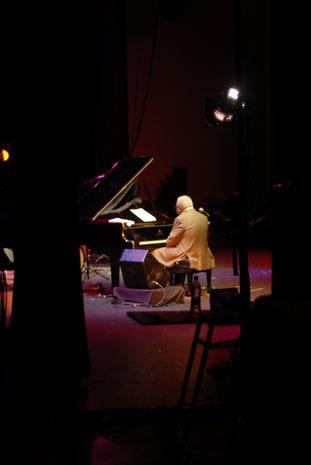 Ellis Marsalis at the 2010 Panama Jazz Festival