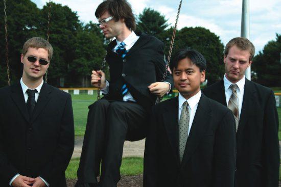 Natural Born Killers: (L-R) Peter Evans, Kevin Shea, Jon Iragagon and Moppa Elliott image 0