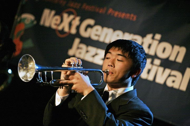 Scene from Next Generation Jazz Festival in Monterey