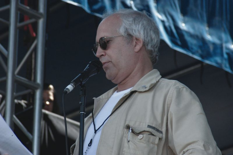 Chevy Chase at the Newport Jazz Festival