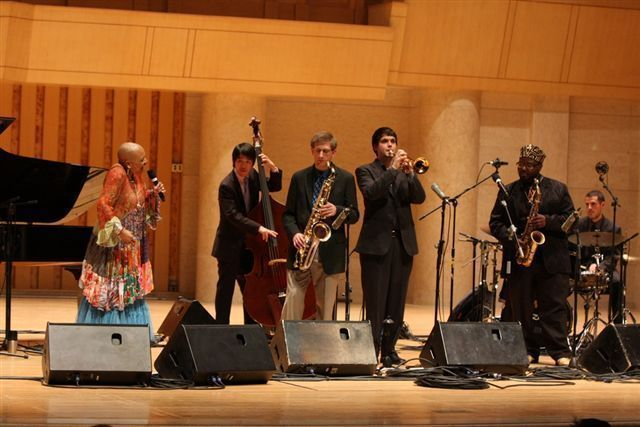 Dee Dee Bridgewater and the Thelonious Monk Institute Ensemble performed to a capacity audience at Beijing's Forbidden City Concert Hall during a recent U.S. Department of State Cultural and Education Tour of China