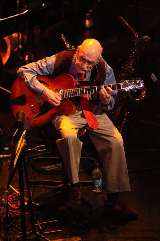 Jim Hall performing music of Bill Evans