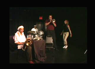 Gregory Charles Royal (trombone), Raashan Carter (bass) and Chris Albert (trumpet) in It's A Hardbop Life