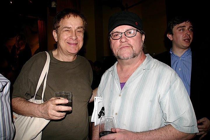 Daniel Smith and Bill Milkowski at JJA Awards in NYC