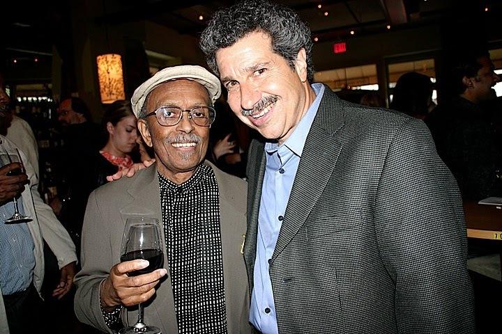 Jimmy Heath and Mark Morganelli at JJA awards in NYC
