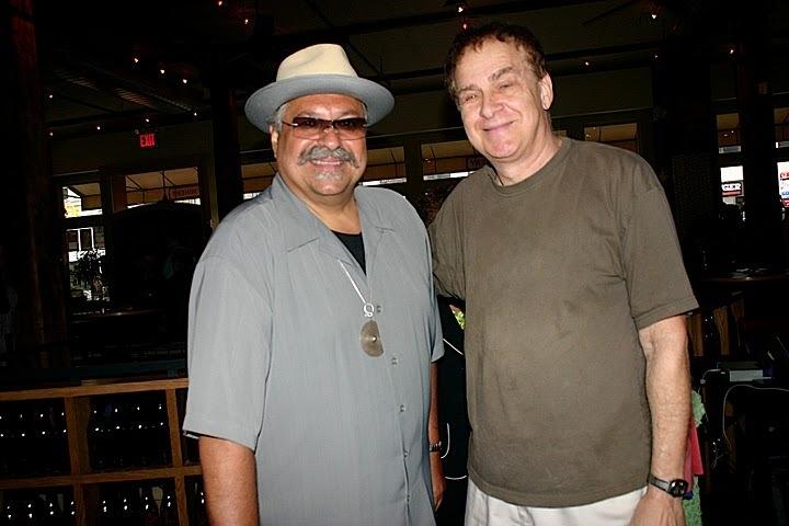 Joe Lovano and Daniel Smith at JJA awards in NYC