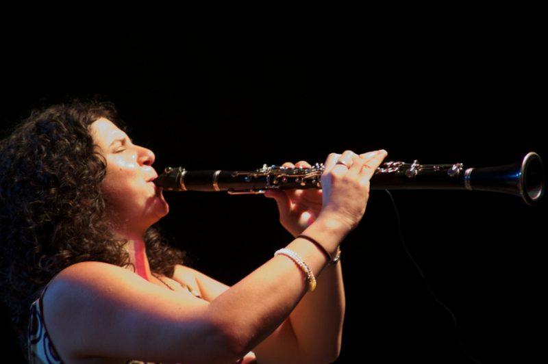 Anat Cohen performs with her quartet, Clarinetwork – Benny Goodman & Beyond, at Litchfield Jazz Festival 2010