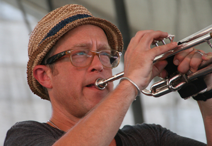 Dave Douglas at 2010 CareFusion Newport Jazz Festival