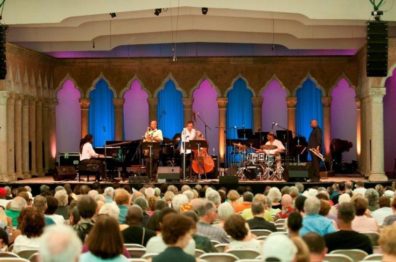 Elio Villafranca Quartet performing at Caramoor