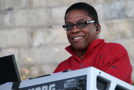 Herbie Hancock at 2010 CareFusion Newport Jazz Festival
