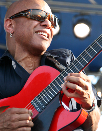 Mark Whitfield at 2010 CareFusion Newport Jazz Festival