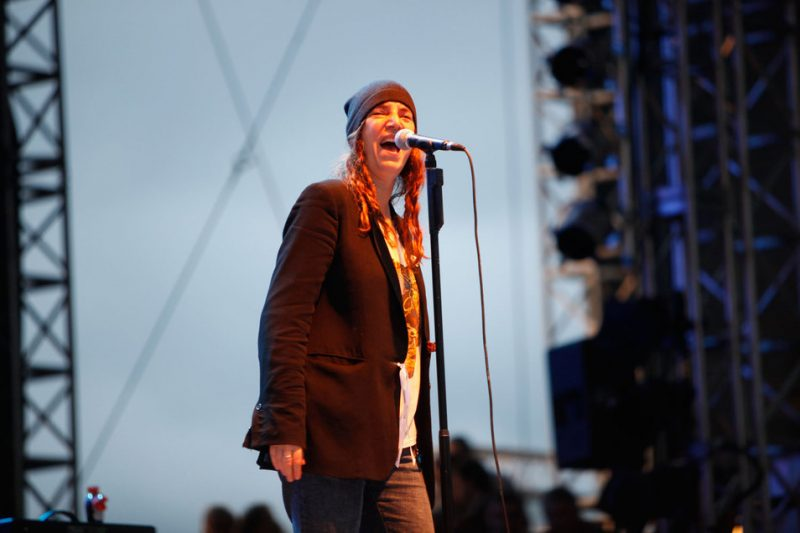 Patti Smith at Jazzaldia 2010