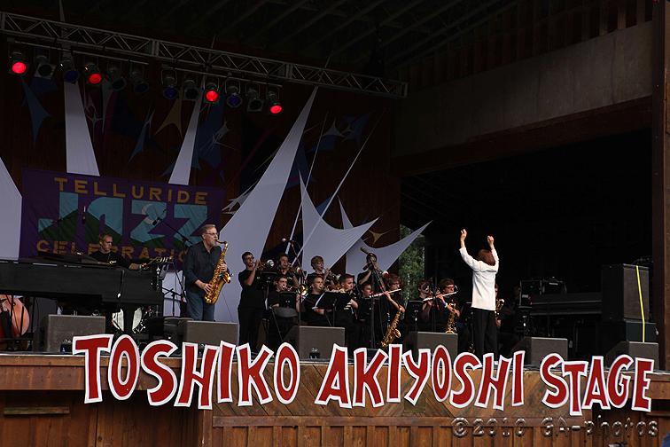 Toshiko Akiyoshi at the 2010 Telluride Jazz Celebration