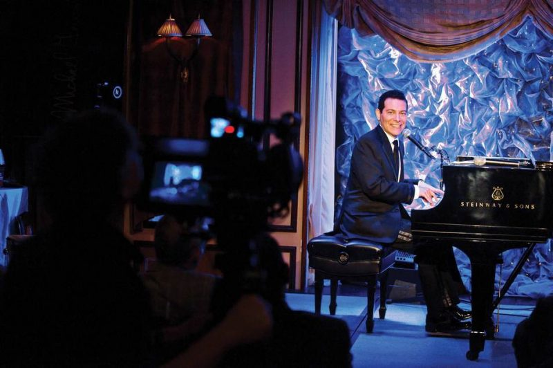 Michael Feinstein taping show for PBS
