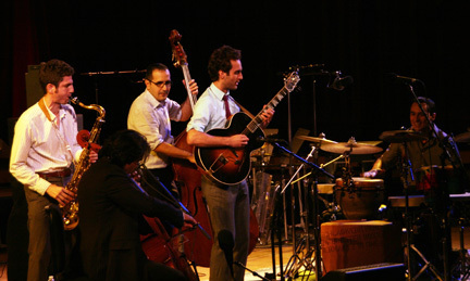 Julian Lage Group at 2010 Tanglewood Jazz Festival