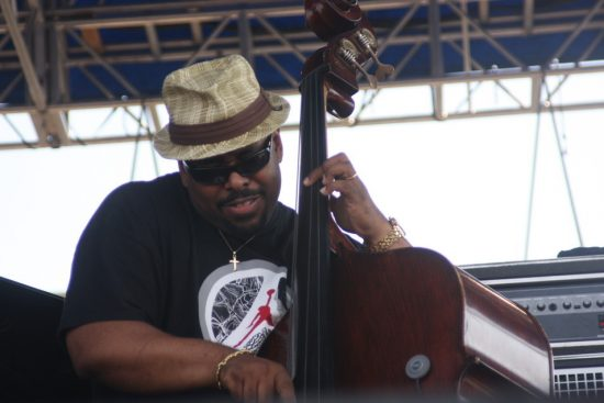 Christian McBride performing with Chick Corea's Freedom Band at CareFusion Newport Jazz Festival 2010 image 0