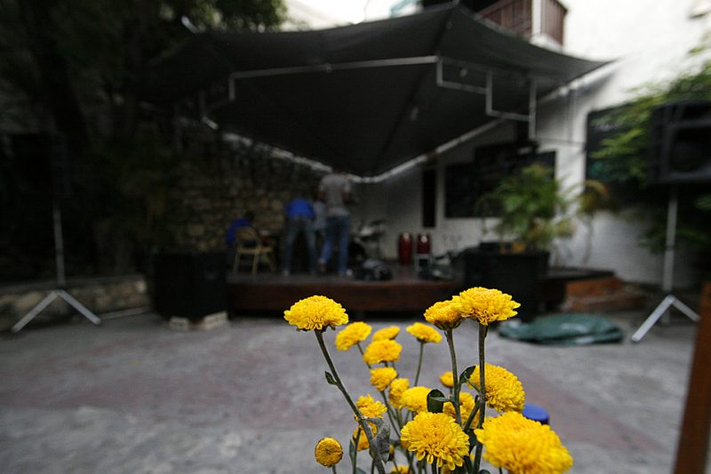 Cafe des Artes in Port-au-Prince's Petionville neighborhood is the only venue hosting regular jazz performances