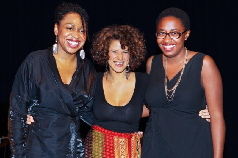From left: 2010 Thelonious Monk International Jazz Vocals Competition finalists are: Charenée Wade, Brooklyn, New York; Cyrille Aimée, Fontainebleau, France; and Cécile McLorin Salvant, Miami, Florida.