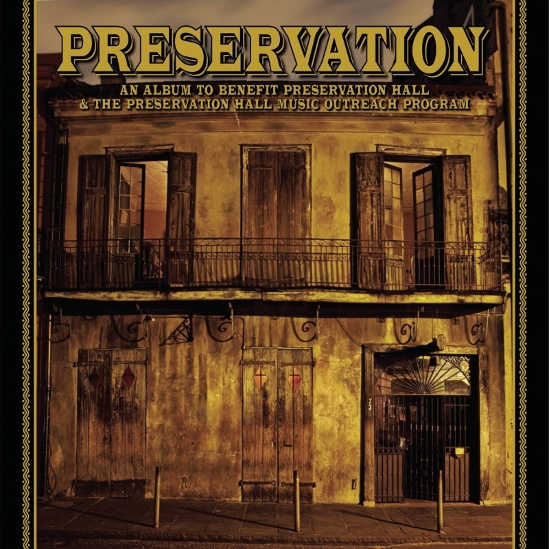 Album cover of compilation to benefit Preservation Hall