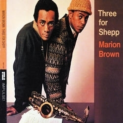 Marion Brown album cover Three for Shepp