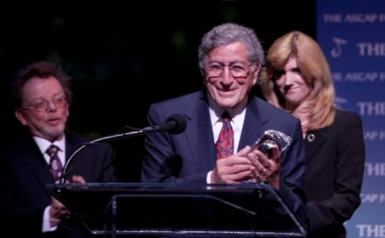 ASCAP Foundation President Paul Williams, Tony Bennett, and his wife Susan Benedetto image 0