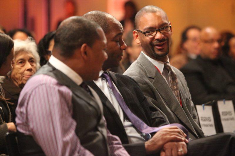 Wynton, Branford and Jason Marsalis at panel for 2011 NEA Jazz Masters