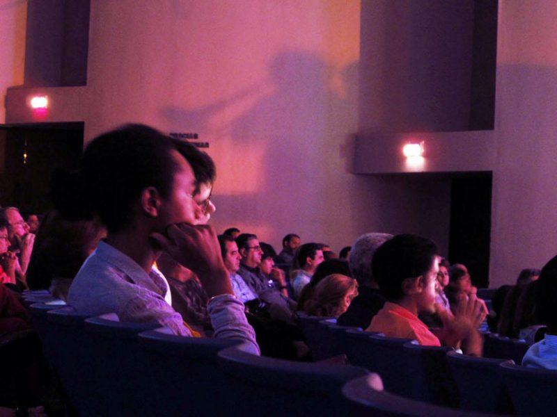 Audience at 2011 Panama Jazz Festival