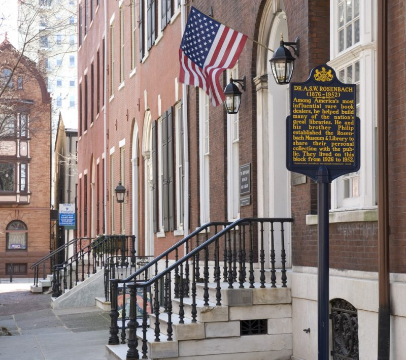 The Rosenbach Museum & Library in Philadelphia