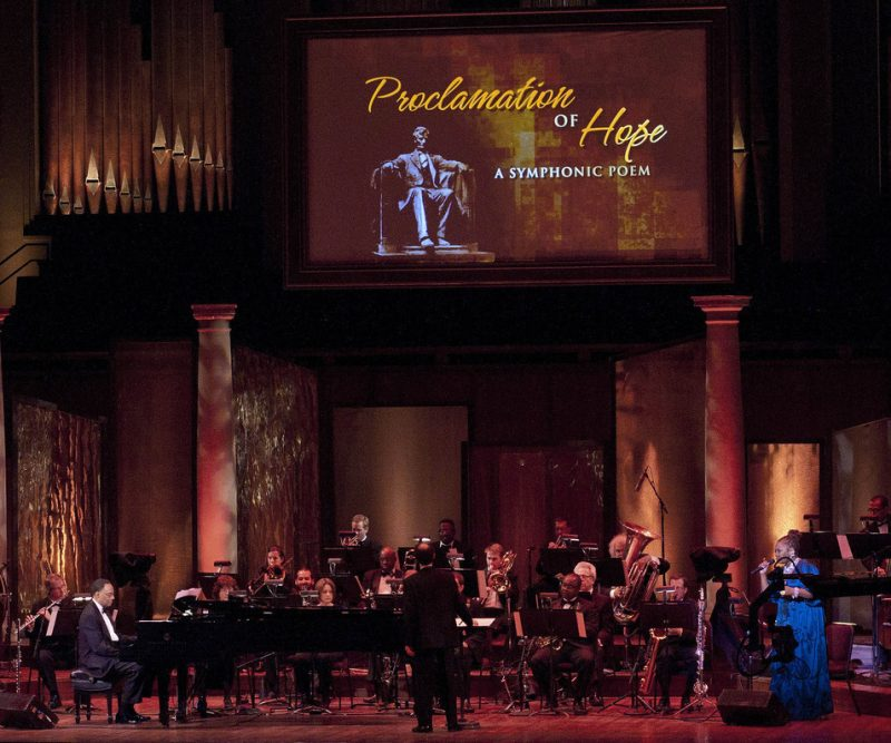 "Ramsey Lewis presents ""Proclamation of Hope"" at the Kennedy Center; Nov. 14, 2010"