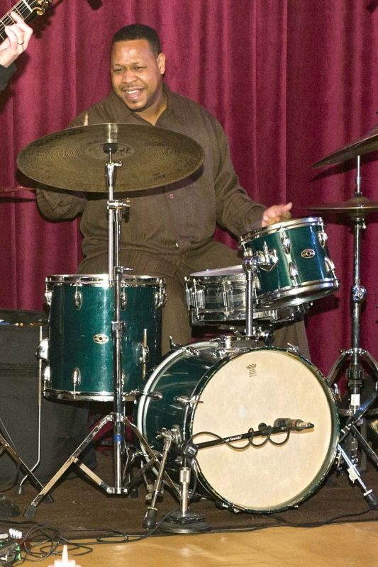 Byron Landham with Joey DeFrancesco at Redding's in Atlantic City