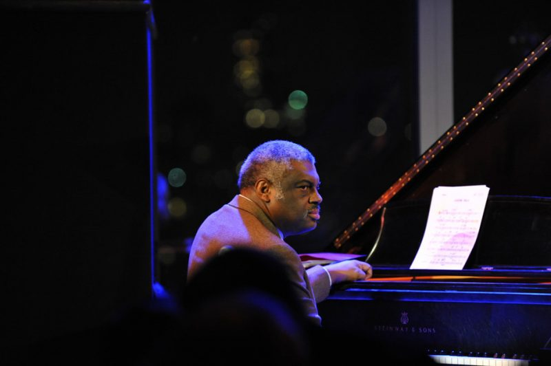 Mulgrew Miller at the 3rd annual Playing Our Parts benefit concert in memory of bassist Dennis Irwin