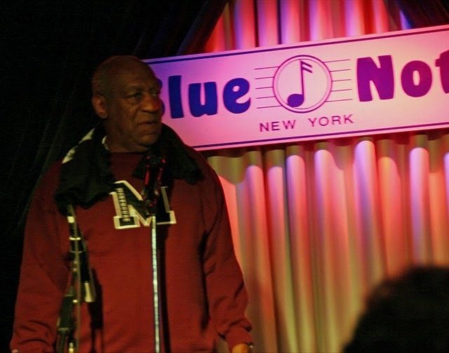 Bill Cosby hosting the Concert to Benefit the James Moody Scholarshp for Newark Youth