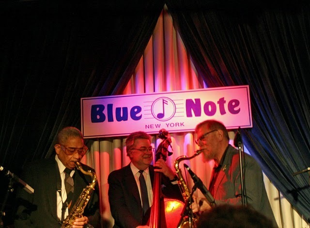 Frank Wess, Todd Coolman and Lew Tabackin performing at the Concert to Benefit the James Moody Scholarship for Newark Youth