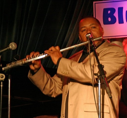 Najee performing at the Concert to Benefit the James Moody Scholarship for Newark Youth