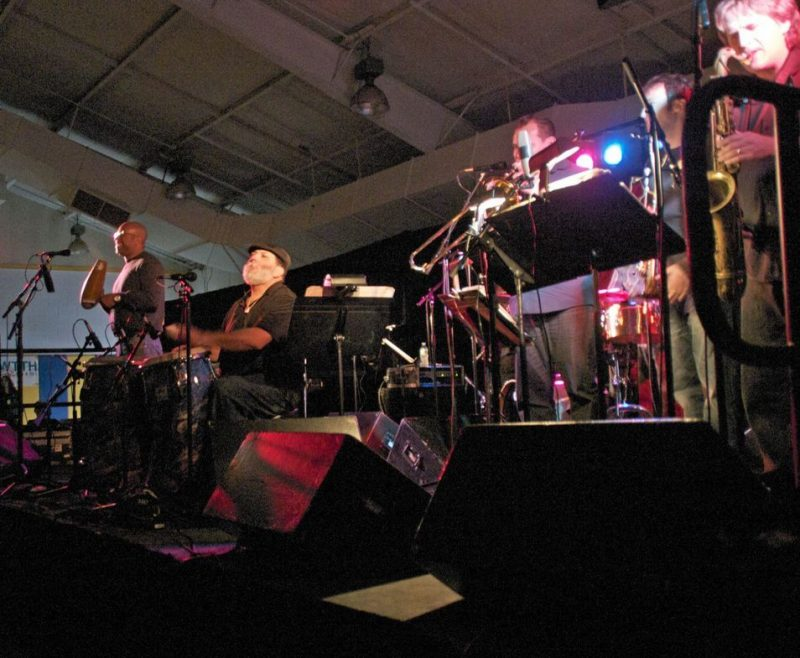 Poncho Sanchez performing at 2011 Cape May Jazz Festival