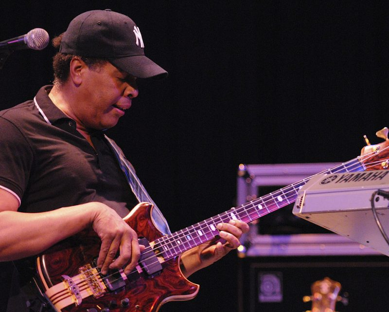 Stanley Clarke performing at Yoshi's in Oakland on April 1, 2011