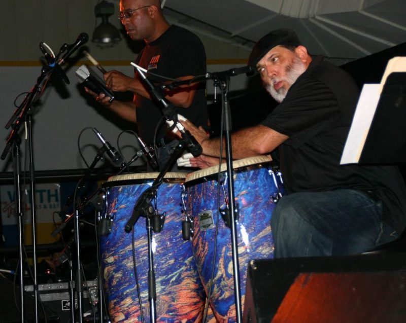 Poncho Sanchez at the 2011 Cape May Jazz Festival