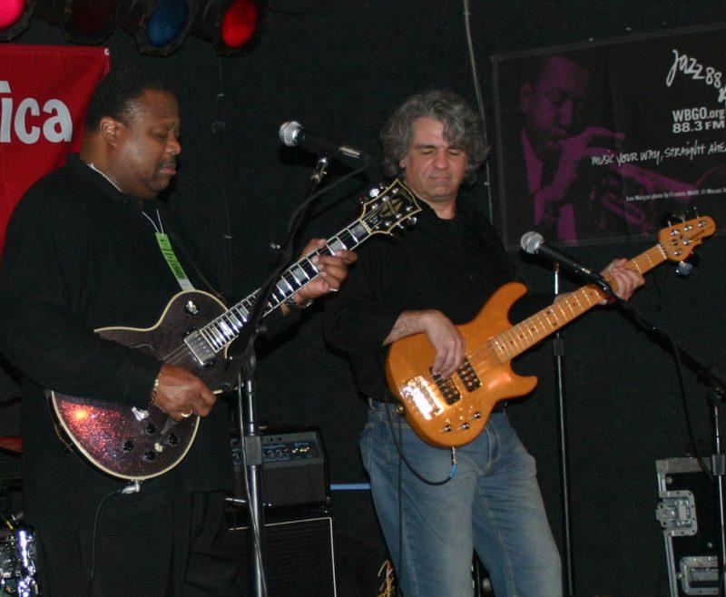 Andrew Jr. Boy Jones at the 2011 Cape May Jazz Festival