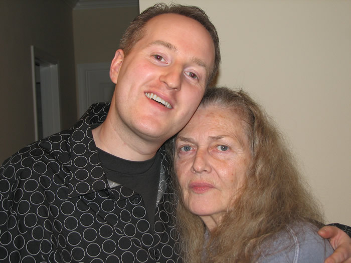Nich Anderson with Nancy King